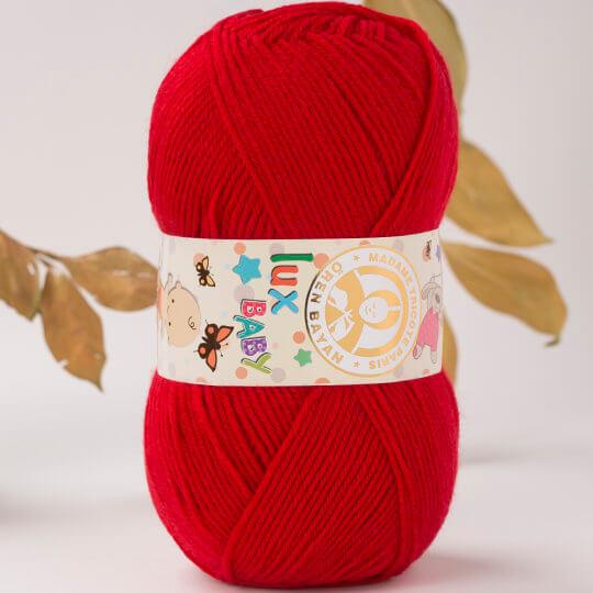 Örenbayan Lux Baby Kırmızı El Örgü İpi - 33-3010