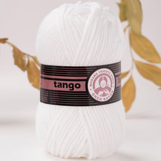 Örenbayan Tango/Tanja Kırık Beyaz El Örgü İpi - 3-1771