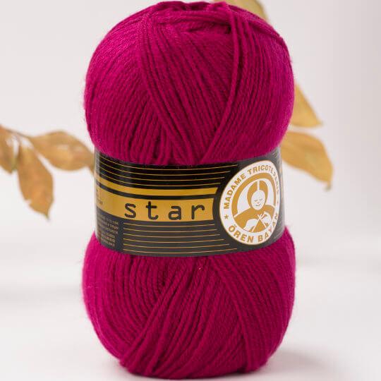 Örenbayan Star Bordo El Örgü İpi - 103-1754