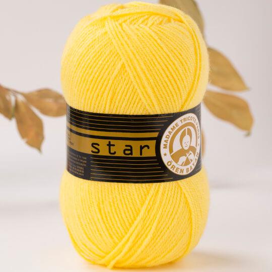 Örenbayan Star Sarı El Örgü İpi - 28-1754