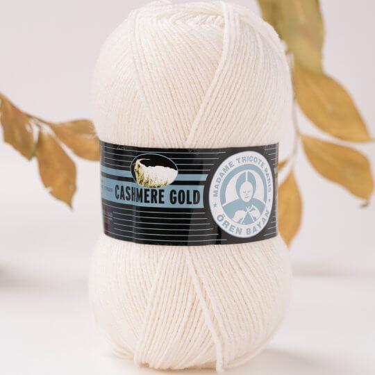 Örenbayan Cashmere Gold Kirli Beyaz El Örgü İpi - 100-1795