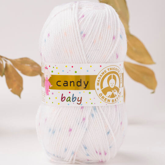 Örenbayan Candy Baby/Kitty Baby Benekli Bebek Yünü - 368-1897