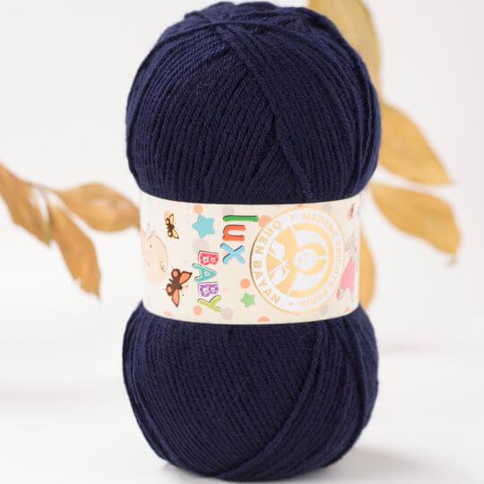 Örenbayan Lux Baby Lacivert El Örgü İpi - 19-3010