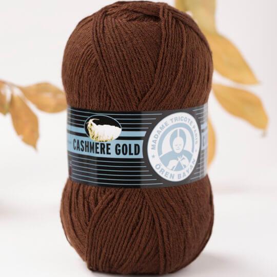 Örenbayan Cashmere Gold Kahverengi El Örgü İpi - 83-1795
