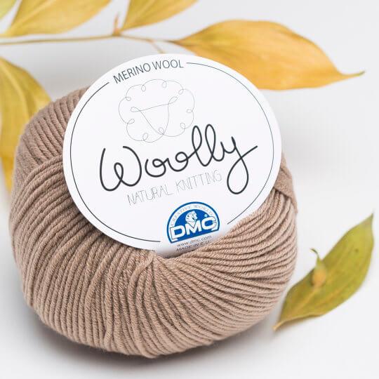 DMC Woolly Kahverengi Merino Bebek Yünü - 112