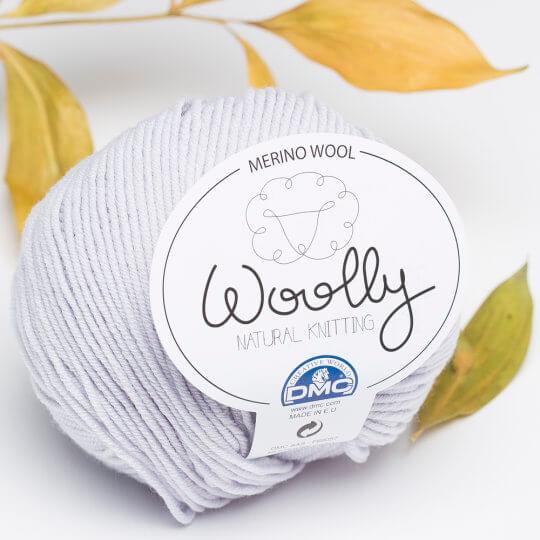 DMC Woolly Gri Merino Bebek Yünü - 121
