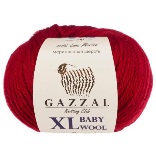 Gazzal Baby Wool XL Kırmızı Bebek Yünü - 816XL