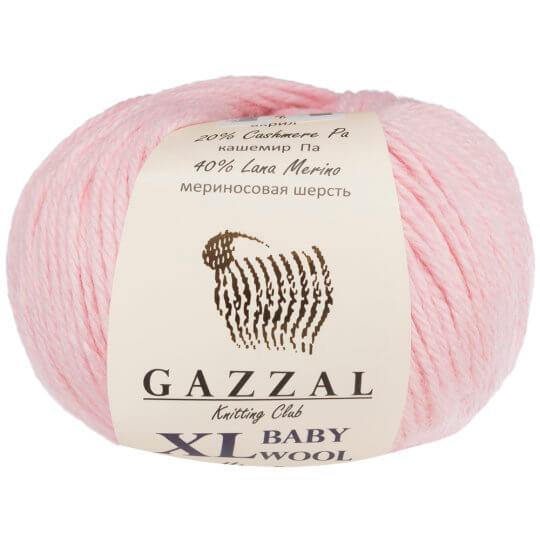 Gazzal Baby Wool XL Pembe Bebek Yünü - 836XL