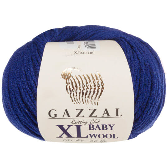 Gazzal Baby Wool XL Gece Mavi Bebek Yünü - 802XL