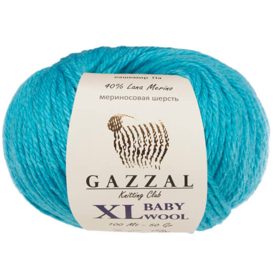 Gazzal Baby Wool XL Turkuaz Bebek Yünü - 820XL