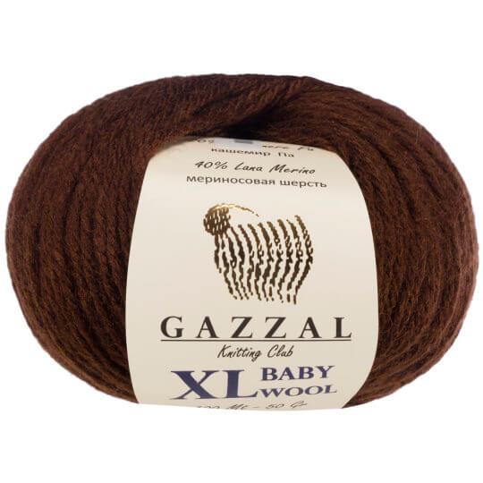 Gazzal Baby Wool XL Kahverengi Bebek Yünü - 807XL