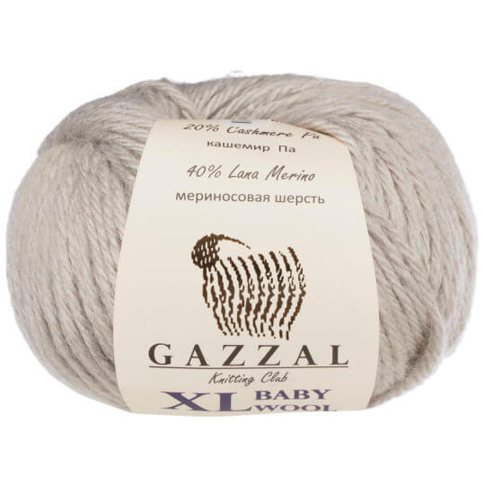 Gazzal Baby Wool XL Gri Bebek Yünü - 817XL
