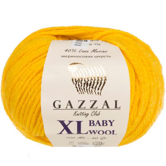 Gazzal Baby Wool XL Sarı Bebek Yünü - 812XL