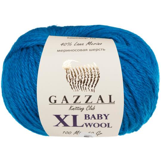 Gazzal Baby Wool XL Mavi Bebek Yünü - 822XL