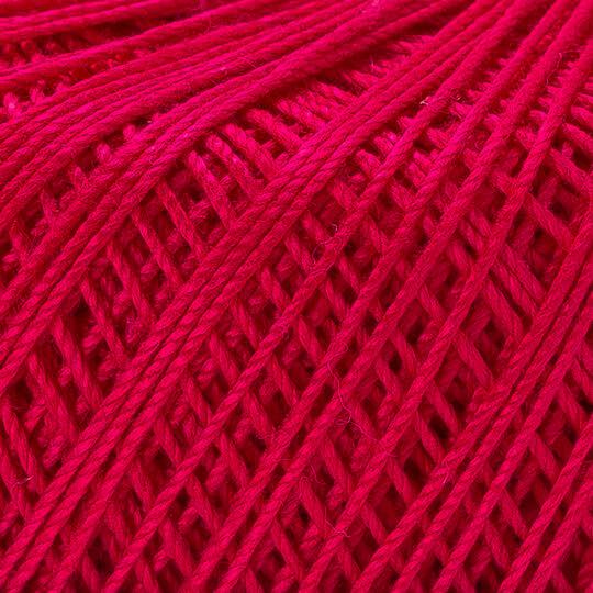 Yarnart Violet Fuşya Dantel İpi - 6358