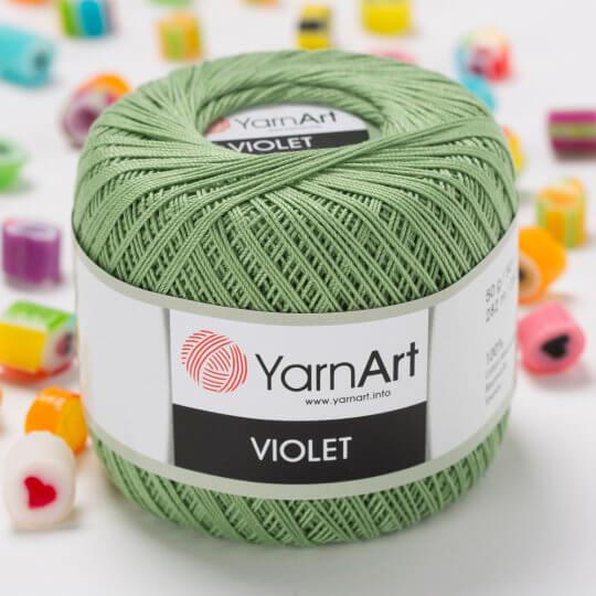 Yarnart Violet Yeşil Dantel İpi - 6369