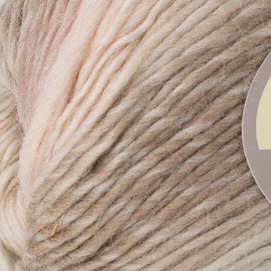 Yarnart Magic Kahverengi Ebruli El Örgü İpi - 611