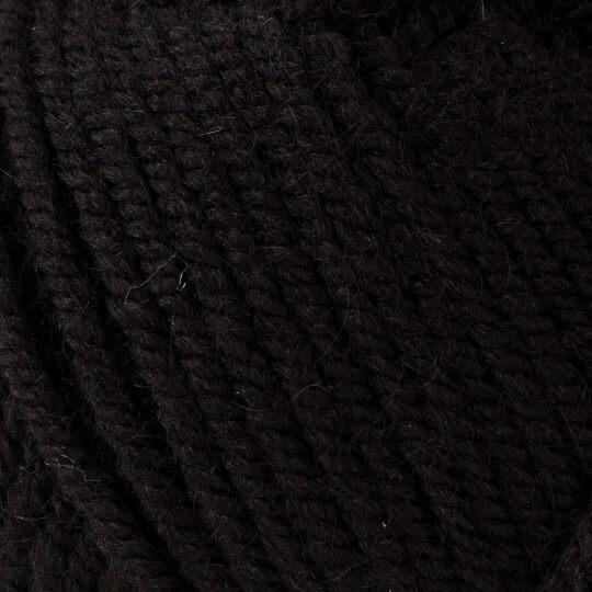 Yarnart Shetland Chunky Siyah El Örgü İpi - 602