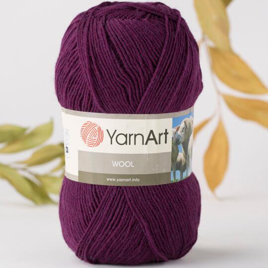 Yarnart Wool Mor El Örgü İpi - 10094