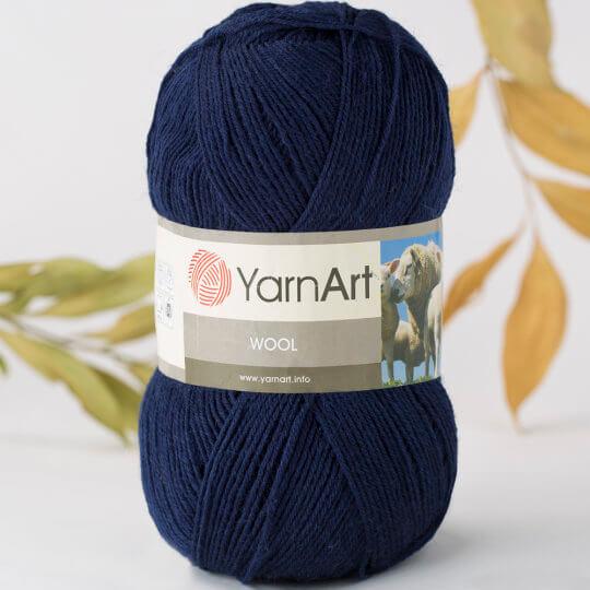 Yarnart Wool Lacivert El Örgü İpi - 6203