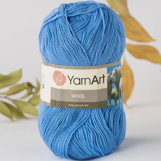 Yarnart Wool Mavi El Örgü İpi - 9638