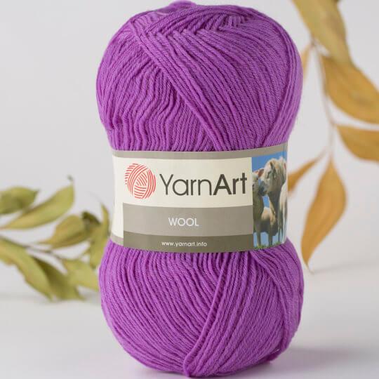 Yarnart Wool Lila El Örgü İpi - 9561