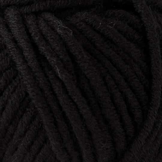 Yarnart  Merino Bulky Siyah El Örgü İpi - 585
