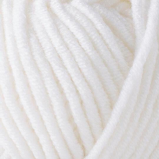 Yarnart Merino Bulky Beyaz El Örgü İpi - 501