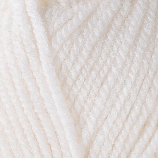Yarnart Shetland Chunky Beyaz El Örgü İpi - 601