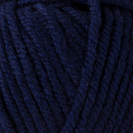Yarnart Shetland Chunky Lacivert  El Örgü İpi - 634