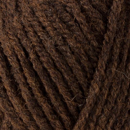 Yarnart Shetland Chunky Kahverengi El Örgü İpi - 619