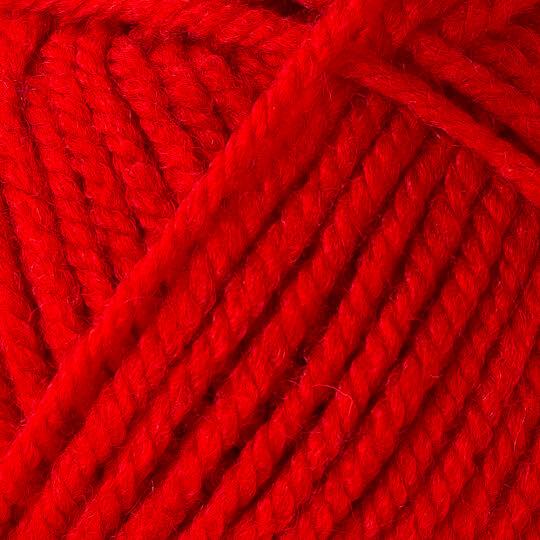 Yarnart Shetland Chunky Kırmızı El Örgü İpi - 607
