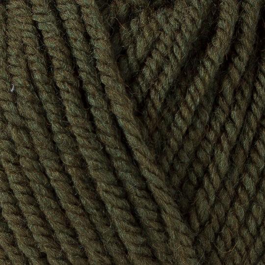 Yarnart Shetland Chunky Yeşil El Örgü İpi - 637