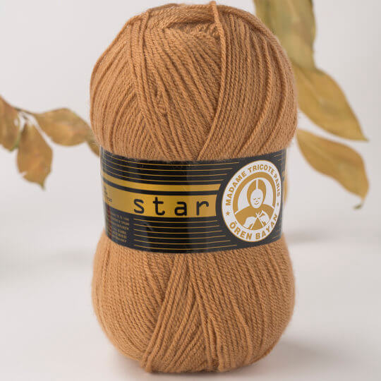 Örenbayan Star Kahverengi El Örgü İpi - 99-1754