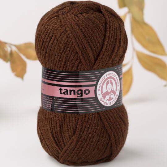 Örenbayan Tango/Tanja Kahverengi El Örgü İpi - 83-1771