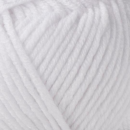 Örenbayan Tango/Tanja Beyaz El Örgü İpi - 000-1771