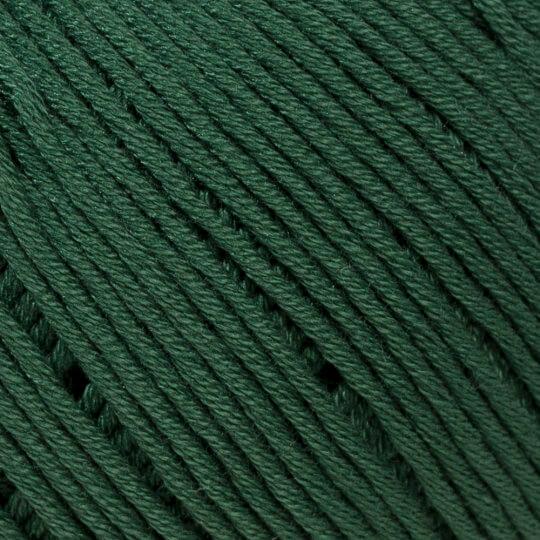 La Mia Mercerized Cotton Koyu Yeşil El Örgü İpi - 157