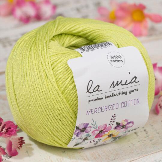 La Mia Mercerized Cotton Yeşil El Örgü İpi - 150