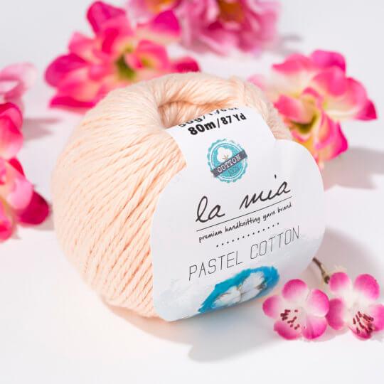 La Mia Pastel Cotton Yavruağzı El Örgü İpi - L056