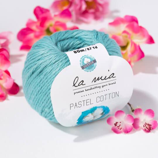 La Mia Pastel Cotton Mavi El Örgü İpi - L053