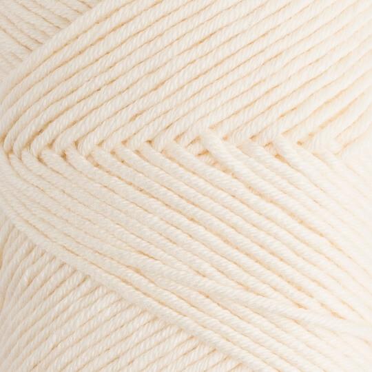 La Mia Baby Cotton Krem El Örgü İpi - L002