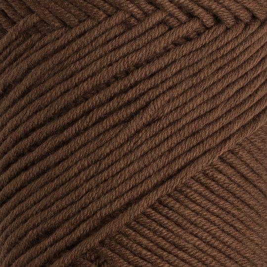 La Mia Baby Cotton Kahverengi El Örgü İpi - L005