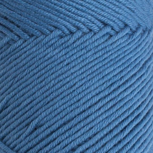 La Mia Baby Cotton Mat Mavi El Örgü İpi - L035