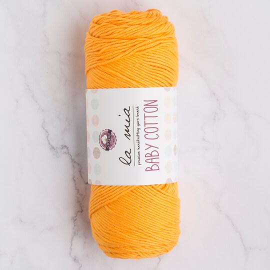 La Mia Baby Cotton Turuncu El Örgü İpi - L037