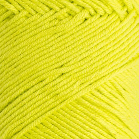 La Mia Baby Cotton Fosforlu Yeşil El Örgü İpi - L045