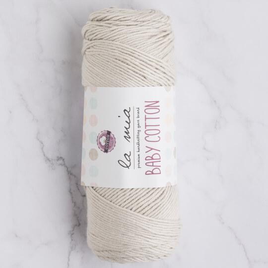 La Mia Baby Cotton Açık Gri El Örgü İpi - L047