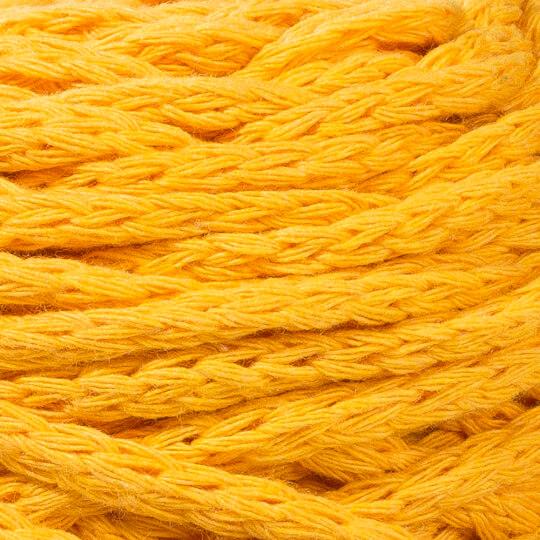 Spagettiyarn XXLace Hardal Sarısı El Örgü İpi - 25