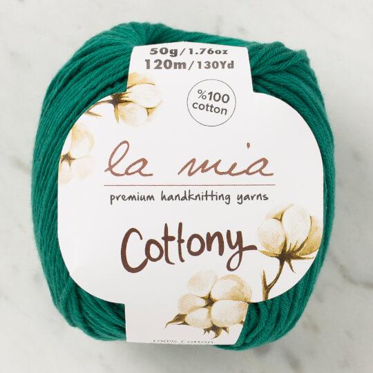 La Mia Cottony Yeşil Bebek El Örgü İpi - P30