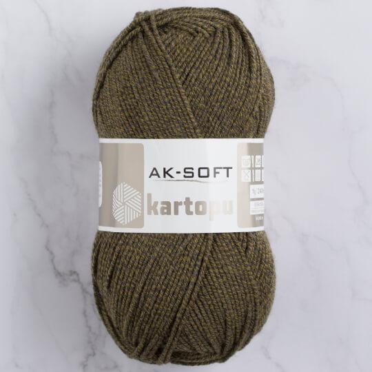 Kartopu Ak-Soft Yeşil El Örgü İpi - MU00926