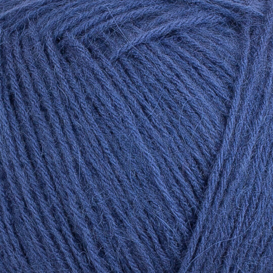 Kartopu Angora Natural Indigo Mavi El Örgü İpi - K1533
